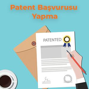 Patent Başvurusu Yapma